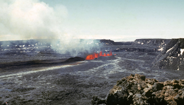April 2010 marks the 70th anniversary of Mauna Loa's third longest summit eruption in recorded history. The 134-day-long eruption in 1940 has been exceeded in duration only by summit eruptions in 1873–74 and in 1949, which lasted 560 days and 147 days, respectively.