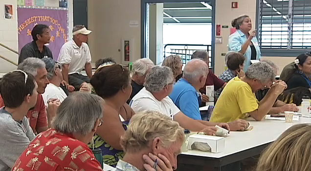 The public was invited to a community meeting on Saturday (May 1) to provide input for the Kealakekua Bay State Historical Park Master Plan.