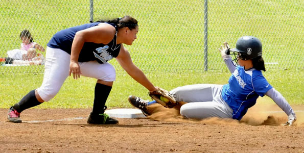 It was East meets West for the title in the BIIF Division I Girls' Softball Championship Saturday (May 1).