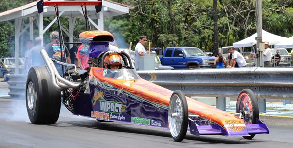 The Big Island Auto Club's Memorial Day Drags at the Hilo Drag Strip.