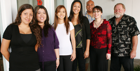 Students recognized for marketing plan for the Arc of Hilo's new Agricultural Product Development Center