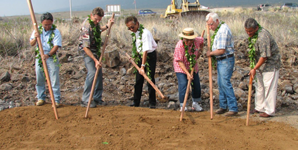 Complex to serve low-income families with children; replaces Kawaihae transitional housing complex