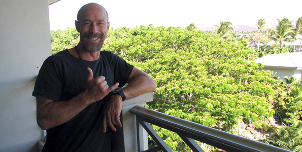 Dr. Kenny Broad visited Fairmont Orchid for weekend of snorkeling, adventure, education