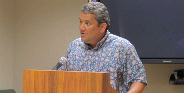 On Wednesday (June 30) Hawaii County Mayor Billy Kenoi announced a plan to save the county $7M via furlough days for most county employees.