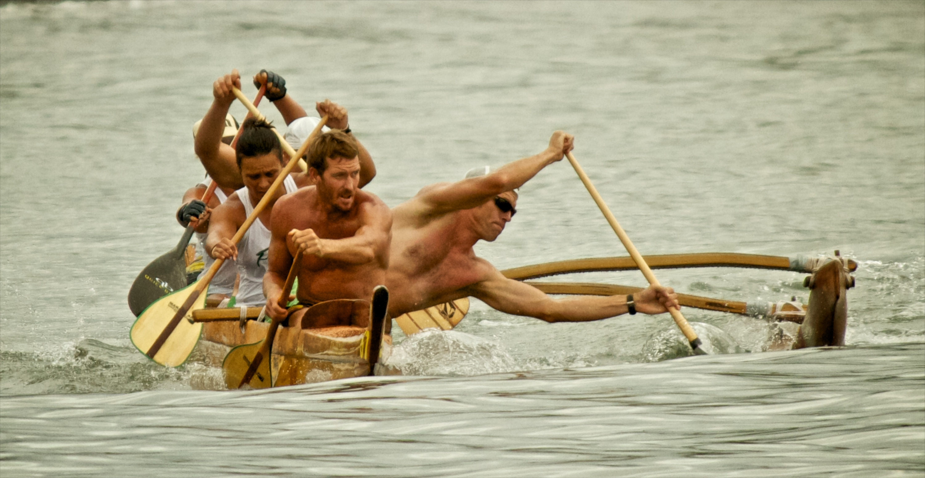 Outrigger canoe racing results from the Moku o Hawaii Puna Canoe Club regatta held at Hilo Bay Saturday (July 3).