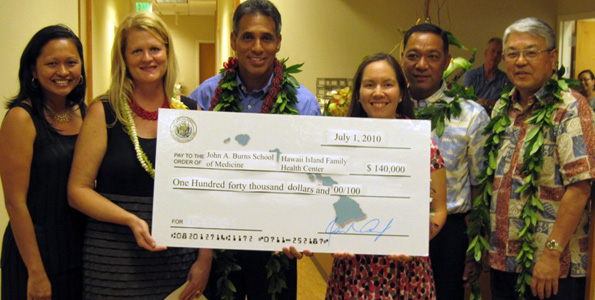 Hawaii Island Family Health Center scoops up $140,000 to boost multi-disciplinary residency program