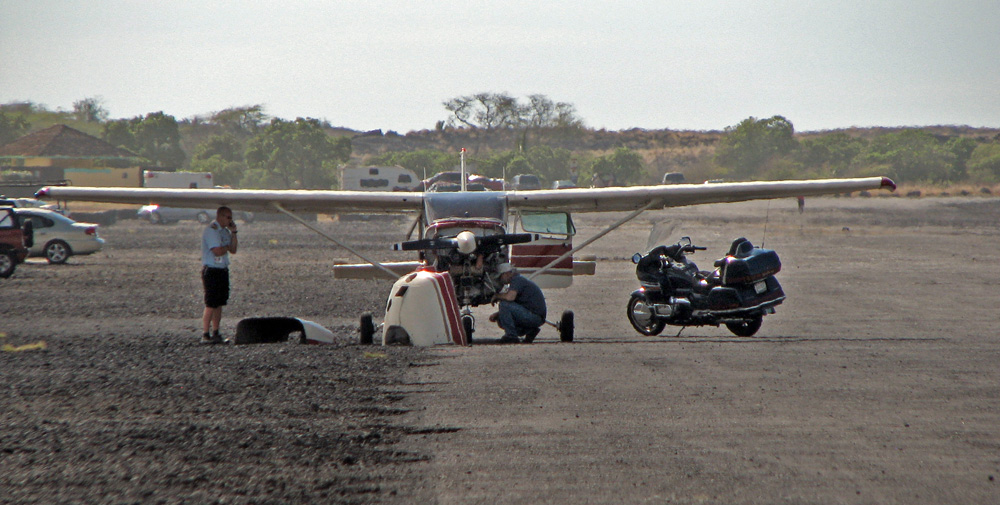"""Basically just lost the engine over the airport and glided in,"" the pilot Hawk Rolewicz said. ""It went pretty flawlessly for an emergency. Everyday is exciting, but today was more exciting than most."""
