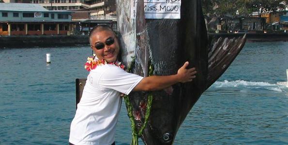 Foxy Lady's Capt. Boyd Decoito scores Henry Chee Award