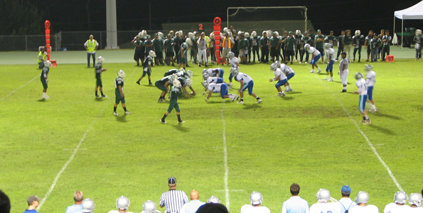 At Konawaena, Kealakehe shuts down cross-town rivals, 44-0, in pre-season action