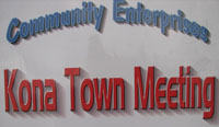 Kona Town Meeting legislative roundtable (Jan. 12)