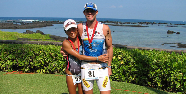 Triathlon titles staying in town, thanks to new husband-and-wife team
