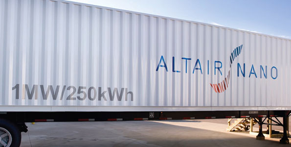 The project is designed to test the performance characteristics of the battery and to demonstrate the effectiveness of battery storage technology to integrate wind energy into an electric grid.