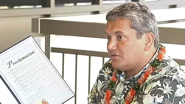 Kenoi proclaims Suicide Prevention Week (Sept. 5-11)
