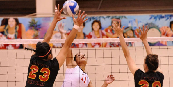 It may be back to the drawing board for the University of Hawaii at Hilo volleyball team as they opened their Pacific West Conference season with a 3-0 loss to Brigham Young University-Hawaii in the UHH Gymnasium.