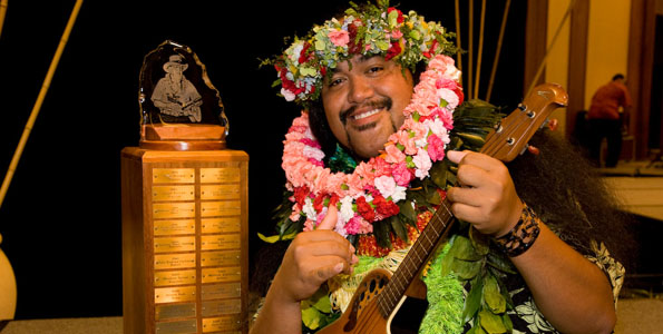 Seven musicians compete in competition named for late Hawaiian Treasure