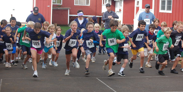 Parker School Fun Run drew 130 runners of all ages and abilities from Kona to Hilo