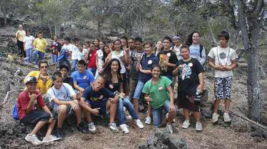 Rare dryland forest honored by youth