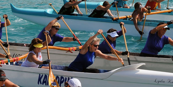 Annual long-distance races all weekend from Kailua Pier