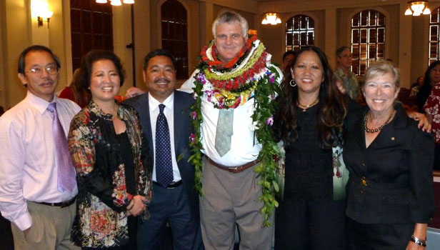 Mayor Billy Kenoi, Judge Ronald Ibarra among guests at Honolulu ceremony for new chief justice