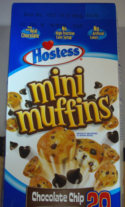 Hostess Brands, Inc. of Irving, Texas, is voluntarily recalling Chocolate Chip Mini Muffins multi-packs sold in retail stores throughout the United States with the knowledge of the FDA. Some of these multi-packs may contain muffins with undeclared walnuts, which is an allergen. People who have an allergy or severe sensitivity to walnuts run the risk of serious illness or life-threatening allergic reaction if they consume these products.