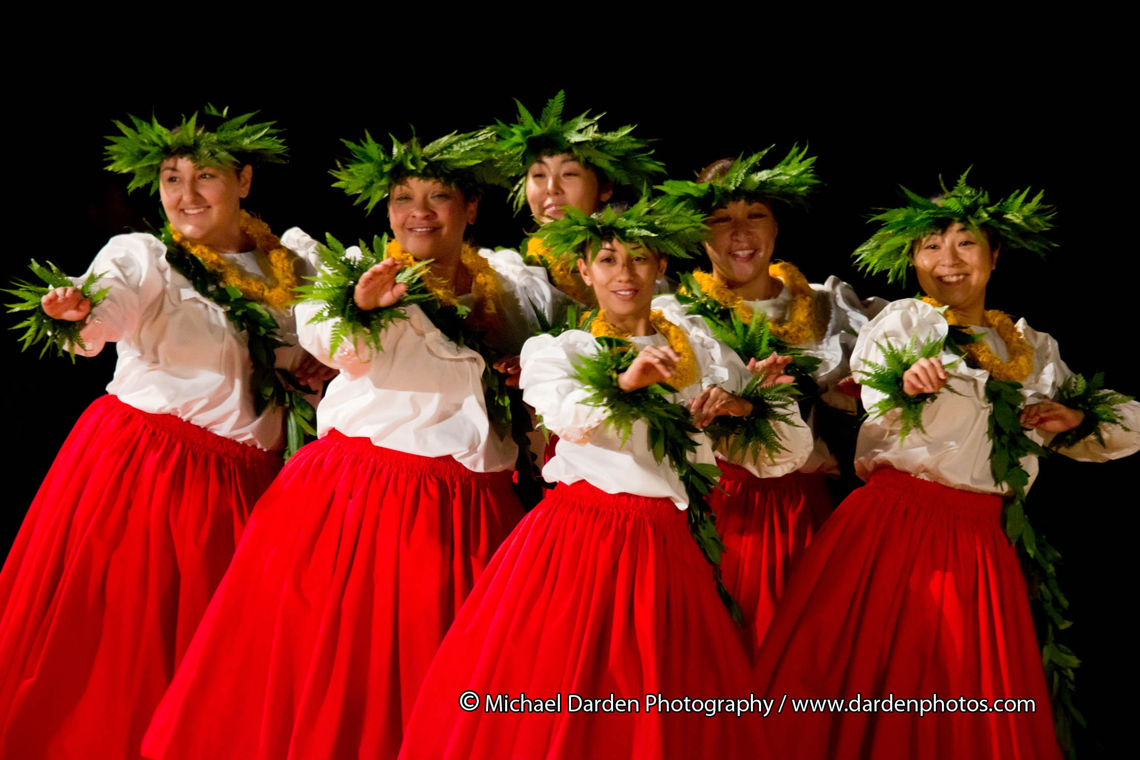 The sixth annual Moku O Keawe International Hula Festival will take place November 3-5, 2011 at Waikoloa Beach Resort on the Big Island's Kohala Coast.  The Festival, presented by Moku O Keawe Foundation, features topnotch women's hālau from Hawai'i, the Mainland USA, and Japan, competing in kahiko, 'auana and kupuna divisions, solo and group.