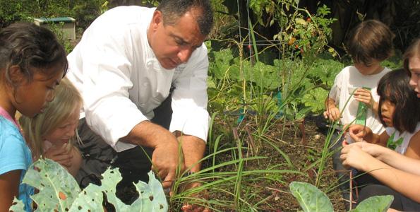 Hualalai Academy garden to supply Gorgeous & Green benefit dinner (Feb. 19)