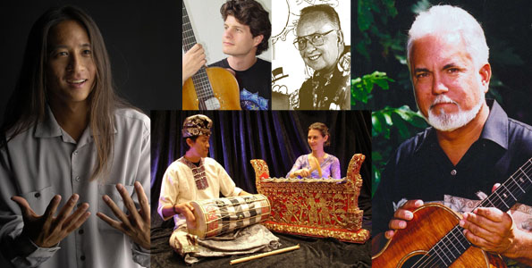 Slam poet Kealoha, slack-key guitarist John Keawe, Balinese music and dance performers Widana and Reynolds along with cartoonist Dave Thorne are featured at various Big Island libraries for National Library Week.