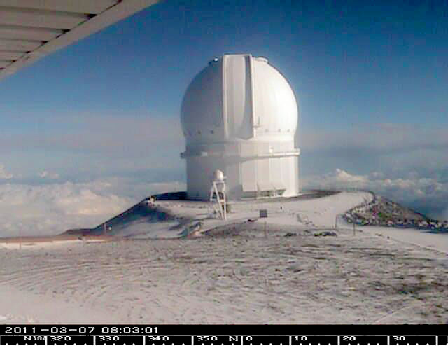 The National Weather Service has cancelled the winter weather advisory for Mauna Kea and Mauna Loa summits on the Big Island as of 3:29 p.m Summit conditions have improved during the day.