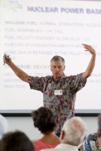 John Deveau talks about the nuclear reactor in Fukushima, Japan.