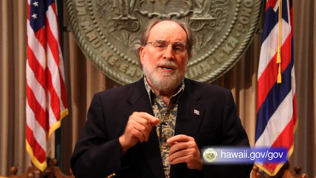 Governor Neil Abercrombie delivers a second weekly address as he talks about his appointees for the Board of Education.