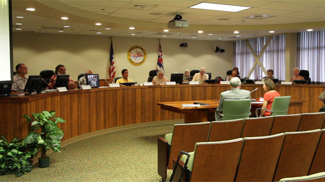 The 2011 Hawaii County Redistricting Commission met for the first time Monday (April 25) at the council chambers in Hilo and although the members were ready to work they were informed that the software for the group may not be available for use until the end of May.