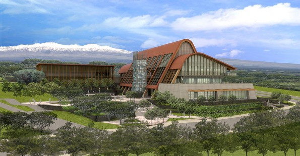 UH-Hilo College of Pharmacy artist's rendition