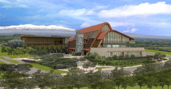 UH-Hilo College of Pharmacy artist's rendition for the future.