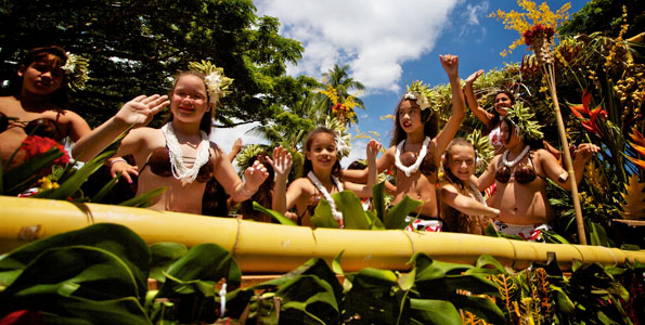 Photos of the annual Merrie Monarch Parade in Hilo Saturday (April 30).