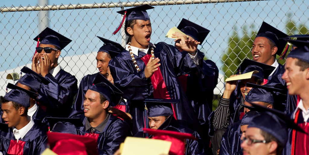 Graduation season is in full swing on the Big Island.