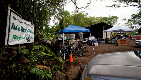 The Keaau Recycle and Reuse Center has been moved near the entrance to the Transfer Station in Keaau.