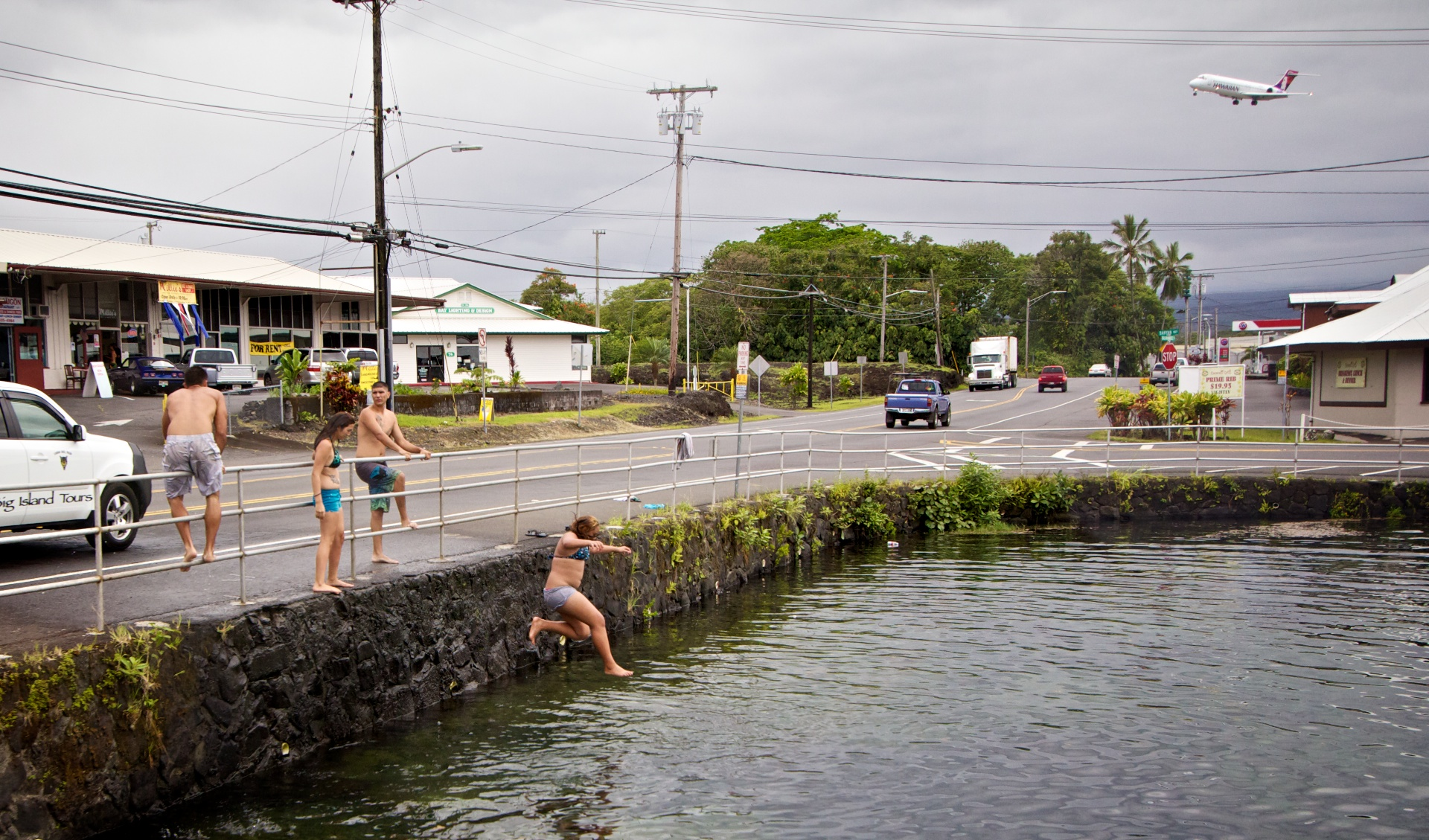 If you've lived in Hilo you can look at the photo and imagine the sounds, smells and feeling of a typical Hilo day.