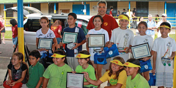 Hawaii Electric Light Company (HELCO) held its fourth annual Solar Regatta on May 14, 2011 at Hilo Intermediate School. This year, more than 200 fifth graders from eight schools participated in the event.