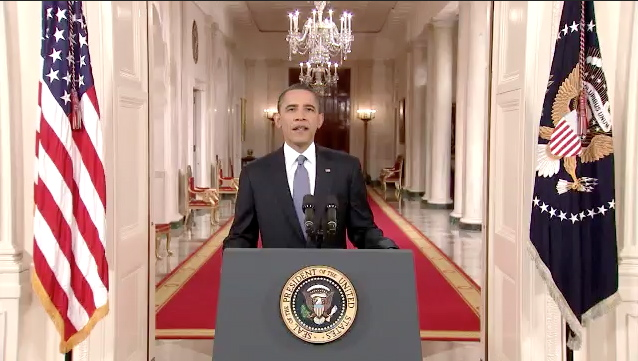 President Barack Obama announces the withdrawl of 10,000 U.S. troops starting next month for 2011 and a total of 33,000 by next summer. Video of the announcement and statements by Senators Akaka, Inouye and Congresswomen Hanabusa and Hirono.