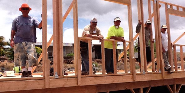 West Hawaii affiliate has built nine homes since 2002; four more targeted for 2011