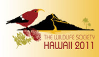 Wildlife Society conference in Waikoloa (Nov 5-10)