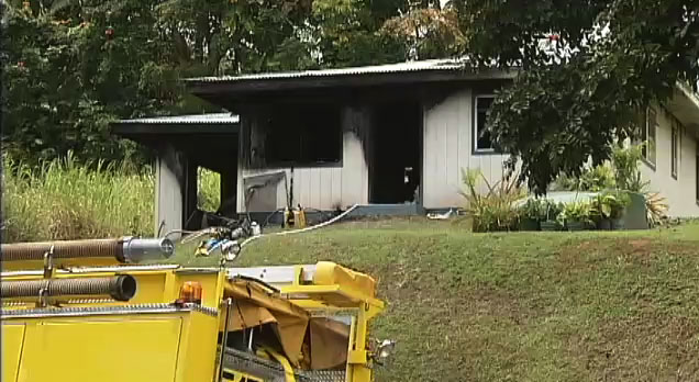 Fire/rescue crews answered a 10 a.m. alarm Friday (July 15) to a structure fire in Ninole along Highway 19 in Ninole.