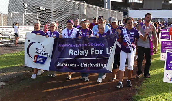 Video from the 19th Annual Relay for Life at Francis Wong Stadium in Hilo held Saturday and Sunday (July 16-17).