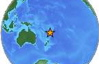 No tsunami threat to Hawaii from 6.6M quake South of Fiji Islands