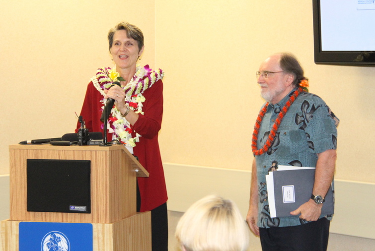 Governor Neil Abercrombie today announced Beth Giesting as the Healthcare Transformation Coordinator. This is a new position, established by an executive order.