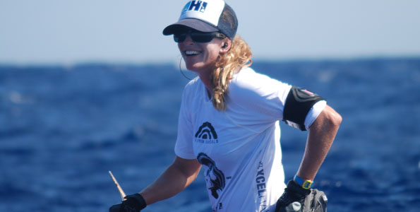 Kona resident has two of the five fastest women's standup paddleboard times ever
