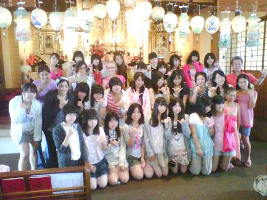 Japan students visiting Big Island