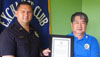 "The Aloha Exchange Club of East Hawaiʻi recognized Officer Erhard Autrata on Thursday (August 25) as ""Officer of the Month"" for August. It was Autrata's second such award this year.