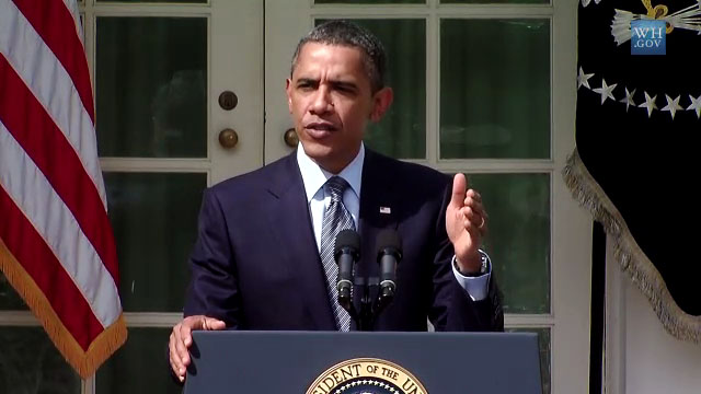 President Obama addresses the American Jobs Act he sent to Congress last week during a speech from the Rose Garden of The White House Monday (Sept 19). Reaction from the Office of the Governor in Hawaii.