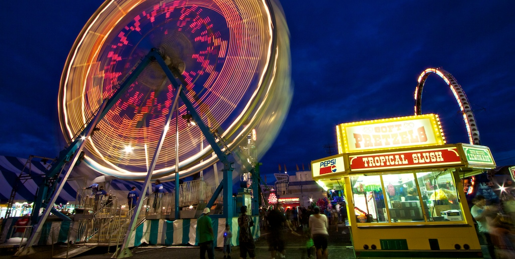 Folks have been spending the weekend at the Hawaii County Fair held at the Hilo Civic Auditorium Complex.